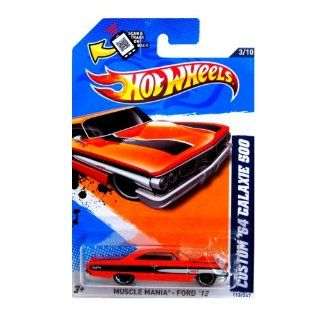 Hot Wheels 2012, Custom '64 Galaxie 500, Musclemania Ford '12, 113/247. 1:64 Scale.: Toys & Games