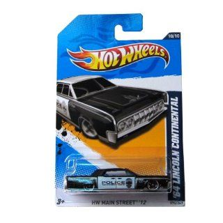 2012 Hot Wheels   '64 Lincoln Continental Police (170/247): Toys & Games
