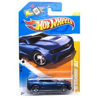 2012 Hot Wheels New Models '12 Camaro ZL1 (Blue) #9/247: Toys & Games