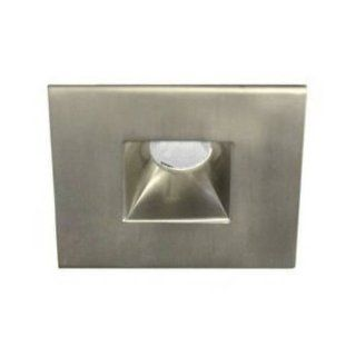 WAC Lighting HR LED251E C BN LEDme Mini 2 Inch Recessed Downlight   Open Reflector   Square Trim, 4500K   Recessed Light Fixture Trims