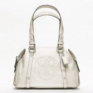 Coach Audrey Patent Leather Small Bag   F47768 (SV/ Ivory) Clothing