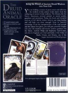 Druid Animal Oracle: Philip Carr Gomm, Stephanie Carr Gomm, Bill Worthington: 9780671503000: Books