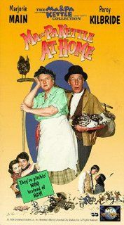 Ma and Pa Kettle at Home [VHS]: Marjorie Main, Percy Kilbride, Alan Mowbray, Alice Kelley, Brett Halsey, Ross Elliott, Mary Wickes, Oliver Blake, Stan Ross, Emory Parnell, Irving Bacon, Virginia Brissac, Richard Eyer, Nancy Zane, Patrick Miller, Donald Mac