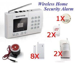 Wireless Home Security System Burglar Alarm Auto Dialer: Camera & Photo