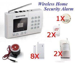 Wireless Home Security System Burglar Alarm Auto Dialer: Camera & Photo