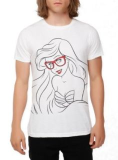 Disney The Little Mermaid Hipster Ariel Slim Fit T Shirt Size  X Small at  Men�s Clothing store