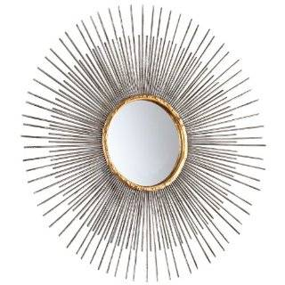 Small Pixley 18 inch Antique Silver Round Mirror   Wall Mounted Mirrors