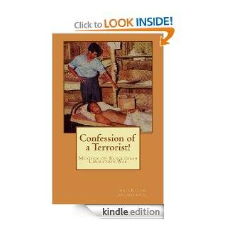 Confession of a Terrorist! eBook: AbulKalam Shamsuddin: Kindle Store
