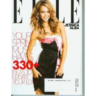 Elle Magazine February 2008   Jessica Alba (No. 270) Books