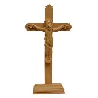 Wooden Art Crucifixion of Jesus Christ Holy Religious Figurine Handcrafted in India   Collectible Figurines