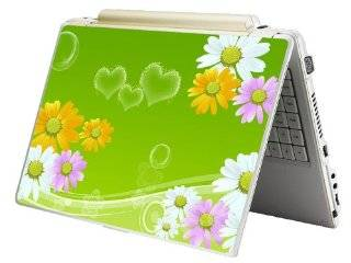 """Laptop Skin Shop 17 17.3 inch Laptop Notebook Skin Sticker Cover Art Decal Fits 16.5"""" 17"""" 17.3"""" 18.4"""" 19"""" HP Dell Apple Asus Acer Lenovo Asus Compaq (Free 2 Wrist Pad Included) Sunflowers Floral: Computers & Accessories"""