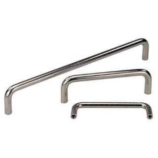 Kipp KPB 1414 Stainless Steel Round Pull Handle 40 x 350 Long M5x.80 thd., Round   Bow Shaped 303 Stainless Steel: Industrial & Scientific