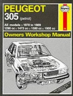 Peugeot 305 1978 89 (Petrol) Owner's Workshop Manual (Service & repair manuals) Ronald G.O. Hawes 9781850105107 Books