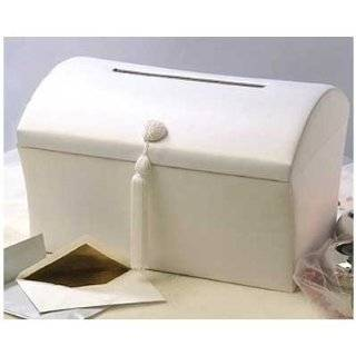 Ivory Contemporary Wedding Money Gift Card Box