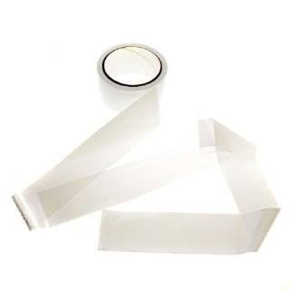 Hidden Flower Bondage Gear White Ribbon Bondage Tape: Health & Personal Care