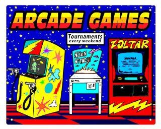 gift pinball Arcade video game sign / retro vintage game room wall decor 324