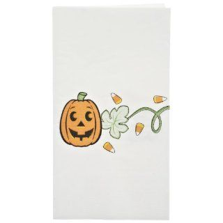 "Dinex DXHS325DN01 Paper Jack O Lanterns Design 2 Ply Dinner Napkin with 1/8 Fold and Coin Edge Embossed, 17"" Length x 15"" Width (Pack of 100): Industrial & Scientific"