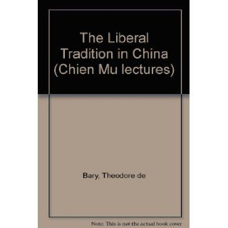 Liberal Tradition in China (Neo Confucian studies): New: 9789622012745: Books