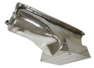 1970 82 FORD SMALL BLOCK 351C 351M 400 DRAG RACING OIL PAN   CHROME Automotive