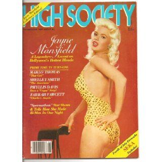 High Society August 1980 Jayne Mansfield Collector's Edition  also Seka featured.: Gloria Leonard: Books