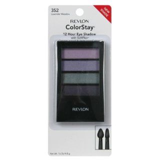 Revlon ColorStay Eye Shadow, 12 Hour, with SoftFlex, Lavender Meadow 352, 16 oz.  Multicolor Eye Makeup Palettes  Beauty