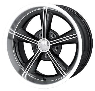 """Ion Alloy 625 Black Wheel with Machined Face and Lip (15x8""""/5x120.65mm): Automotive"""