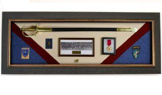 Military Display Case Wall Mounted Shadow Box