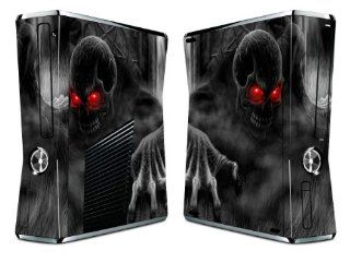 Bundle Monster Vinyl Skin Sticker For Xbox 360 S Slim Game Console   Cover Protector Art Decal   Goblin Electronics