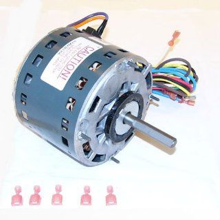 OEM Upgraded GE 1/3 HP 115v Furnace Blower Motor 5KCP39GGK359BS: Industrial & Scientific
