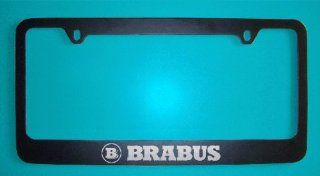 Mercedes Benz Brabus Black License Plate Frame (Zinc Metal): Everything Else