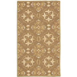 Safavieh HK376C 2 Chelsea Collection 1 Feet 8 Inch by 2 Feet 6 Inch Hand hooked Wool Area Rug, Brown and Green
