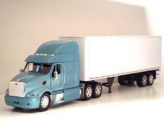 1:32 Peterbilt 387 Tractor Trailer G scale Toy truck (Blue): Toys & Games