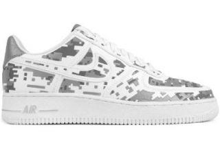 Nike Air Force 1 Low Premium '08 QS Digi Camo Mens Basketball Shoes 520505 100 Shoes