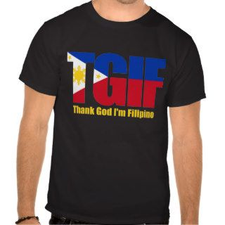 TGIF Filipino with Philippine Flag Shirts