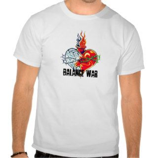 heart tattoo tribal style, Balance War Tshirts