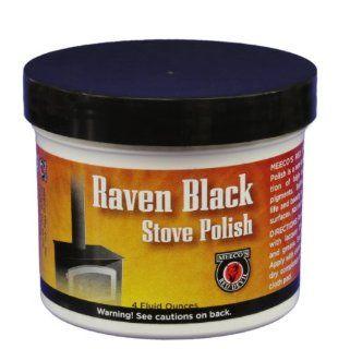 MEECO'S RED DEVIL 402 Stove Paste, Black   Black Stove Polish