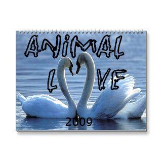 Animals In Love Calendars