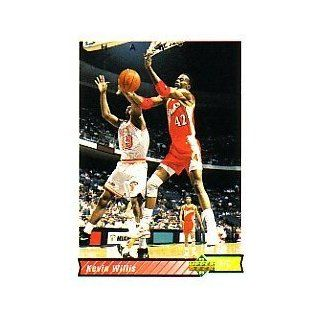 1992 93 Upper Deck #397 Kevin Willis: Sports Collectibles