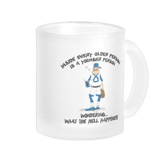 Funny Old Grandpa Gift Coffee Mugs