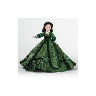 """Madame Alexander Dolls, 10"""" Christmas Dinner Scarlett O'Hara, Gone with the Wind Collection Toys & Games"""