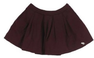 Abercrombie & Fitch Women's Pleated Jersey Mini Skirt Clothing