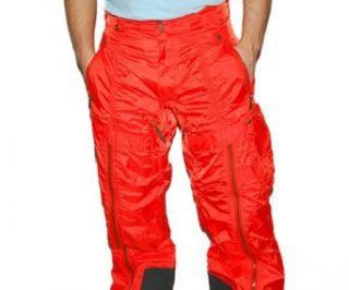 Ralph Lauren RLX Mens Cargo Snowboard Ski Pant Orange Military Green Small Clothing