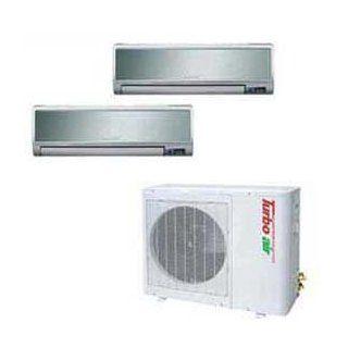 Turbo Air Ductless Mini Split Air Conditioner Tas 21mvhn/O   21000 Btu Cool Btu Heat   Room Air Conditioners