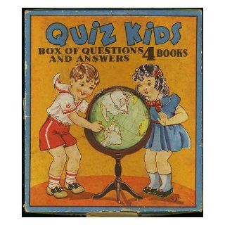 "Quiz Kids (1941 Radio Show) ""Box of Questions & Answers"" (contains 4 books) #421: Louis G. Cowan, Joe Kelly: Books"