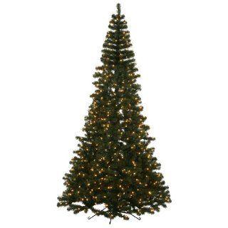 7.5 ft. Half Pre Lit Christmas Tree   Slim Christmas Tree Half