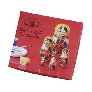 Russian Doll Painting Kit Toys & Games
