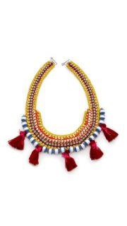 Akong London Tassel Tribal Necklace