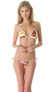 Lenny Niemeyer Triangle String Halter Bikini Top
