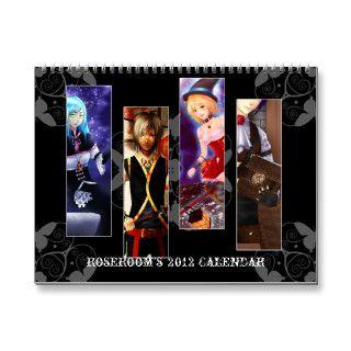 Anime 2012 calendars