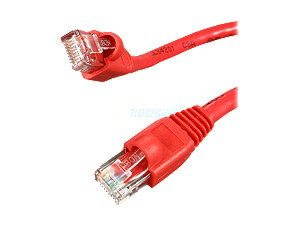 Rosewill RCW 587 1ft. /Network Cable Cat 6 /Red